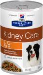 Корм для собак Hills Prescription Diet Kidney Care при заболеваниях почек с курицей 354г