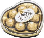Конфеты Ferrero Rocher хрустящие из молочного шоколада сердце 100г