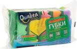 Губки для посуды Qualita Bubble Effect 5шт
