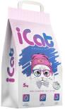 Наполнитель iCat впитывающий с ароматом лаванды 5кг