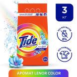 Стиральный порошок Tide Аква-Пудра 2в1 Lenor Color автомат 20 стирок 3кг