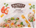 Смесь овощная Маркет Перекресток Овощи для жарки быстрозамороженная 400г