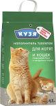 Наполнитель для кошачьего туалета Кузя впитывающий 4.5л