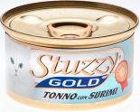 Корм для кошек Stuzzy Gold Тунец с крабовыми палочками в собственном соку 85г