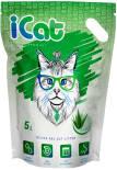 Наполнитель iCat Aloe силикагелевый 5л