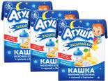 Каша Агуша Засыпай-ка Молочно-злаковая с грушей и бананом 2.7% 200мл