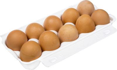 Яйца Роскар Счастливая курица СО коричневые 10шт