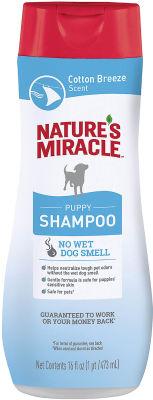 Шампунь для щенков Natures Miracle с ароматом свежего хлопка 473мл