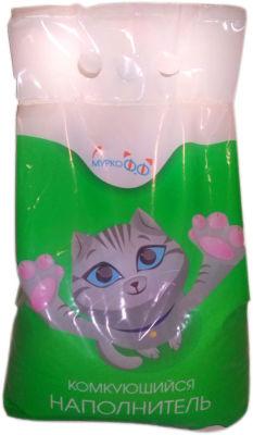 Наполнитель для кошачьего туалета Муркофф Комкующийся 3кг