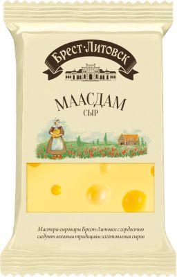 Сыр Брест-Литовск Маасдам 45% 200г