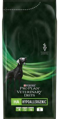 Сухой корм для собак Pro Plan Veterinary Diets HA Hypoallergenic при аллергии 1.3кг