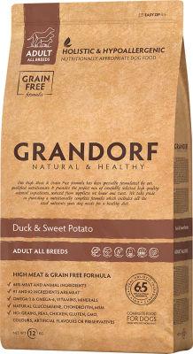 Сухой корм для собак Grandorf Adult all Утка с бататом 12кг