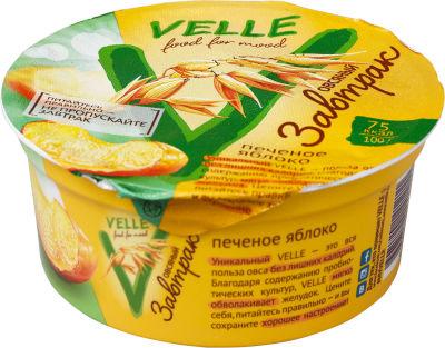 Продукт овсяный Velle Завтрак Печеное яблоко 175г