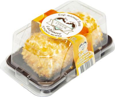 Сыр Coeur du nord Бюш в абрикосе 45% 130г