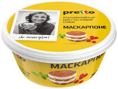 Сыр Pretto Маскарпоне 80% 250г