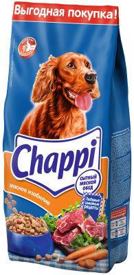 Корм для собак Chappi Мясное изобилие 15 кг