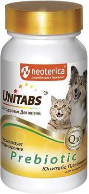 Пребиотик для кошек и собак Unitabs Prebiotic 100шт