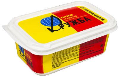 Сыр плавленый Ростагроэкспорт Дружба 55% 400г