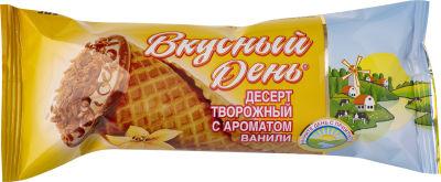 Десерт творожный Вкусный День с ванилью 15% 40г