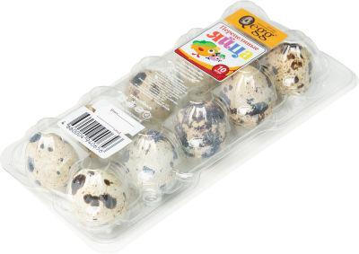 Яйца Qegg перепелиные 10шт