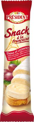 Сыр President Snack a la Francaise мягкий с белой плесенью 60% 170г