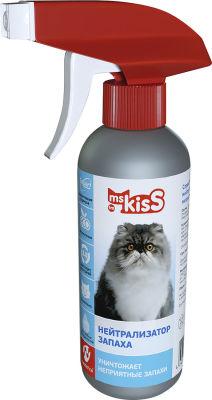 Спрей для кошек Ms. Kiss Нейтрализатор запаха 200мл