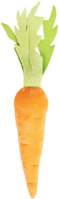 Игрушка для животных Fancy Pets Морковка с пищалкой 43см
