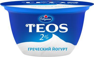 Йогурт Савушкин Греческий 2% 140г